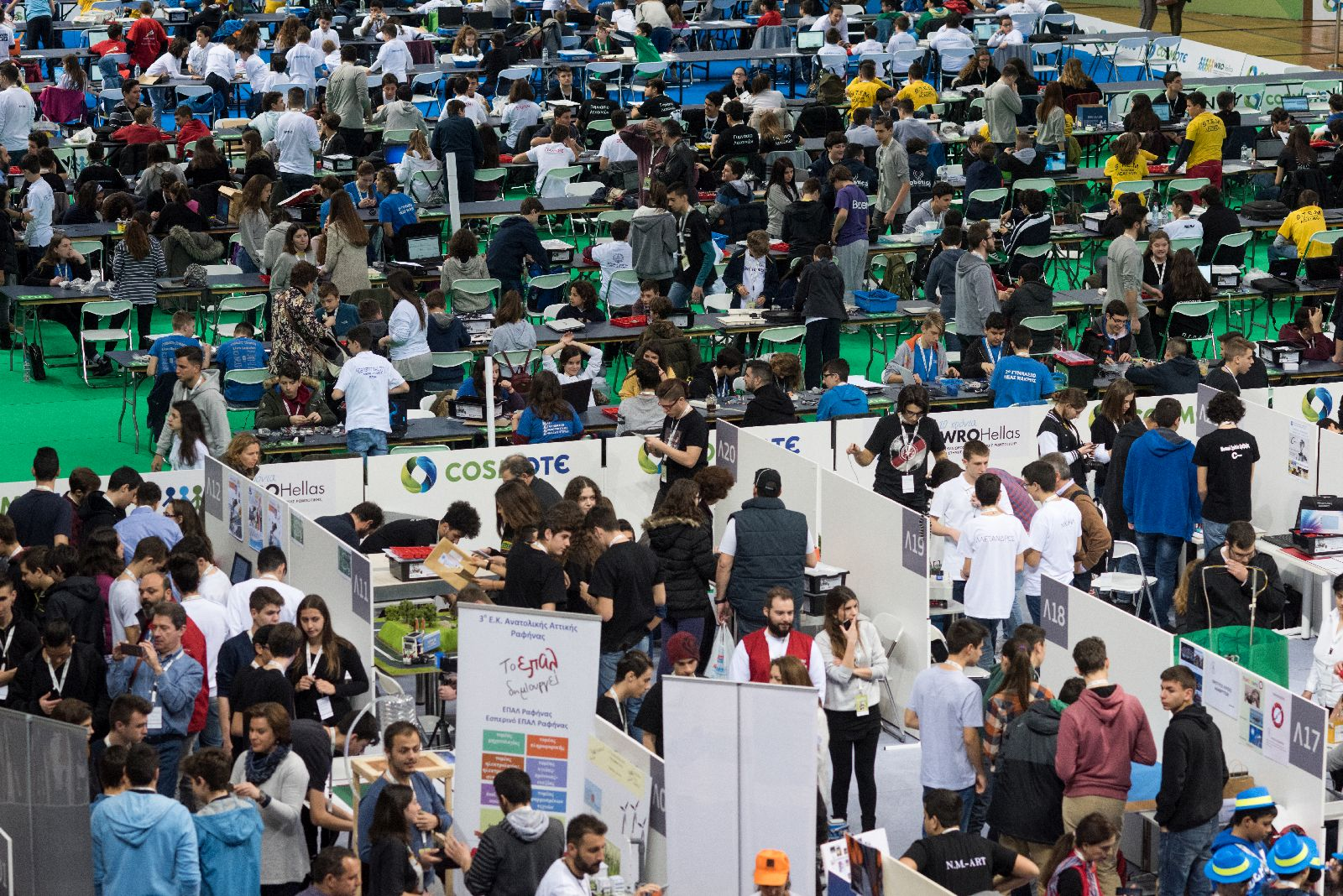 Σας προσκαλούμε στον Πανελλήνιο Διαγωνισμό Εκπαιδευτικής Ρομποτικής 2019!